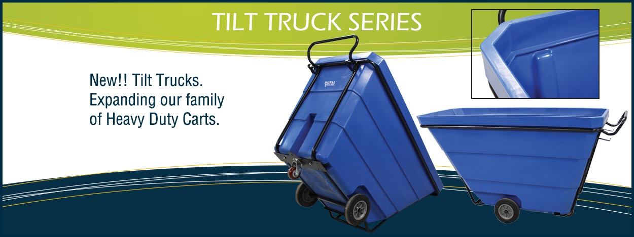 New!! Tilt Trucks, expanding our family of Heavy Duty Carts.